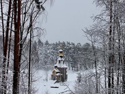 Церковь Андрея Первозванного на Вуоксе Рождество, храм, Андрей Первозванный