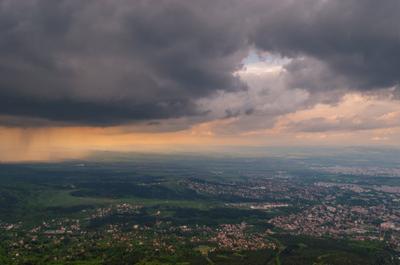 Storm is coming Болгария пейзаж