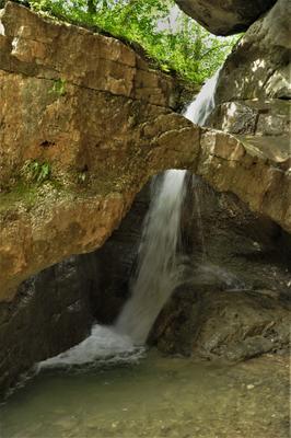 Водопад Кольцо Северная Осетия- Алания Верховья реки Карцадон