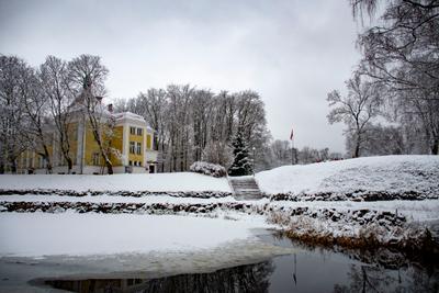 Зима Приозерск Корела зима озеро