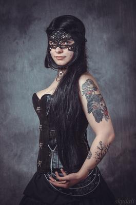 Aniri. 2015 девушка girl красавица skydali готик вамп рок тату