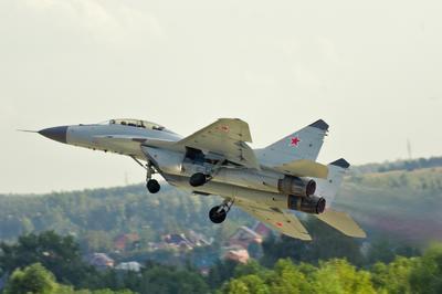 МИГ-29М2 Fulcrum МИГ-29 ВВС авиашоу взлет форсаж air force