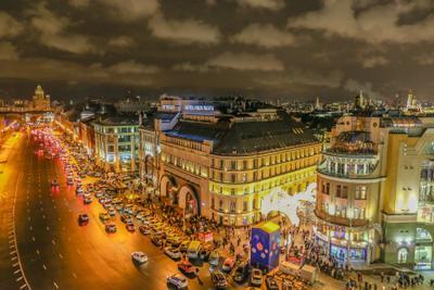 Ночная Москва ночная москва ночной город вечерняя лубянская площадь
