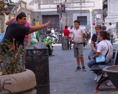 обба! Неаполь-день 10