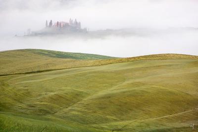 Воздушные замки Тосканы Тоскана