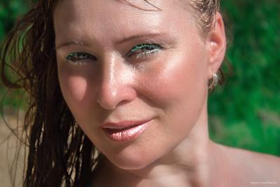 Света портрет лицо девушка женщина волосы глаза губы крупный план