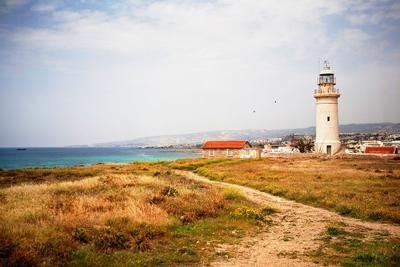 *** Кипр, маяк, море
