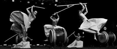 Большой Бум !!! (2) жанр черное-белое барабанщики Коdо