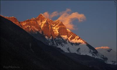 Lchotse. Непал Гималаи трек Nepal Himalaya trek