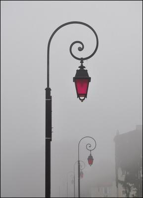Туманное утро в Арле