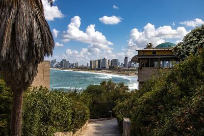 Вид на Тель-Авив из Старого Яффо Тель-Авив