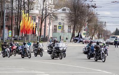 Открытие мотосезона мотоцикл