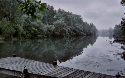 Утро туманное. Утро Даль Река