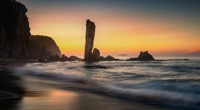 *** Безмятежность *** приморский край море солнце рассвет владивосток заповедник скалы