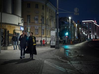 Прогулка по Моховой.