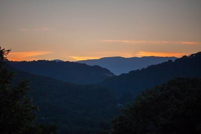 Утро в горах кавказ Аше хребет утро горы