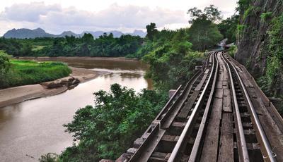 Избрав дорогу Тайланд  речка Квай