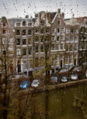 Дождливый Амстердам
