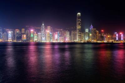 Ночной Гонконг гонконг
