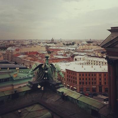Одинокий город Питер Город