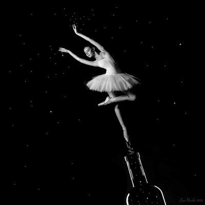 Напиток богов балерина вино алкоголь театр балет портрет девушка необычное волшебство фэнтези