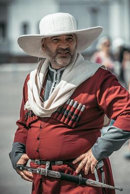 Черкес портрет мужчина черкес фестиваль Грозный