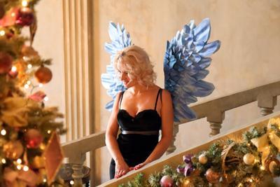 Ангел с голубыми крыльями Степанова Светлана Анатольевна парапсихолог взгляд женщина ангел крылья