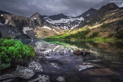 Озеро Крепкое Горный_Алтай горы пейзаж природа beautiful Алтай landschaften Travel озеро