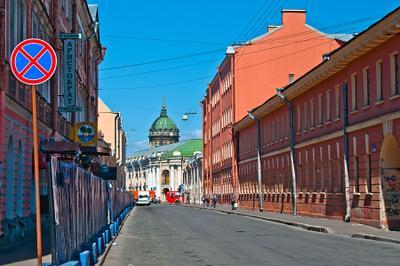 любимый город для пешеходных прогулок