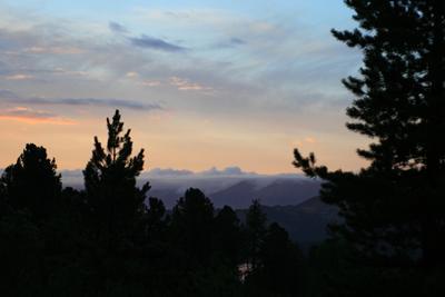 Вспоминая Рериха Алтай горы закат