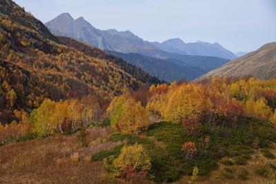 На пути к Синеокому Осень Кавказ