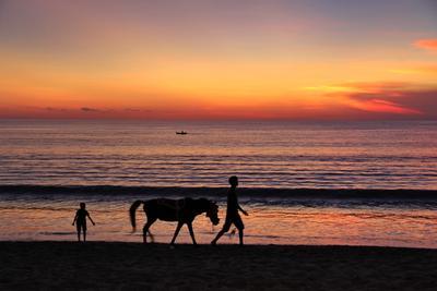 Закат на Джимбаране, Бали Джимбаран Бали