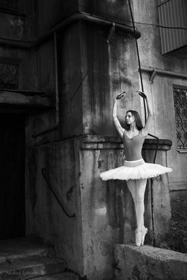 *** балет балерина город улица андрейларионов