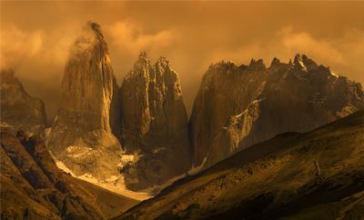 Торрес дель Пайне, Патагония. Патагония