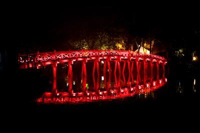 Красный мост в Ханое