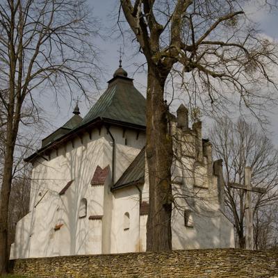 Посада Риботицька - оборонная православная церковь- монастирь св. Онуфрия
