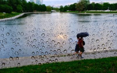 Слёзы дождя... дождь люди капли
