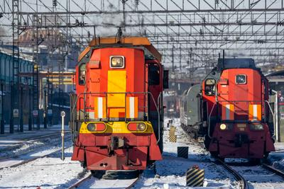 ТЭМ2-7626 railway железная дорога locomotive локомотив электровоз поезд train Russia Siberia Irkutsk Россия Сибирь Иркутск споттинг spotting