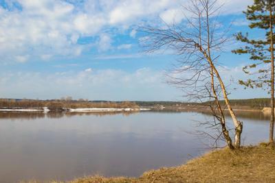 Вятка Вятка река весна апрель
