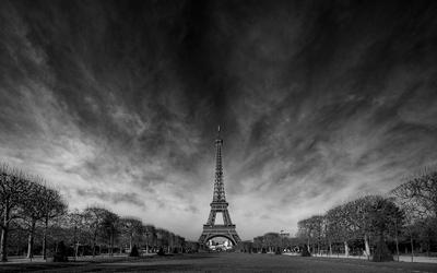 *** Париж Франция Эйфелева башня