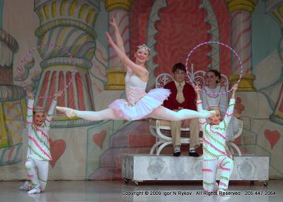 Балет «Щелкунчик» Балерина, Балет «Щелкунчик»2009, Birmingham AL Alabama Youth Ballet the Nutcracker  Igor N Rykov photographer 205 447 2064