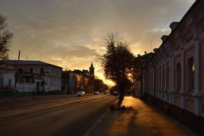 Вечерний Симбирск город вечер Ульяновск