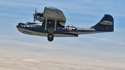 Летающая лодка PBY-5A Каталина бомбардировщик