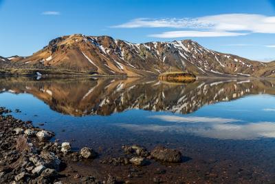 Отражения гор Iceland