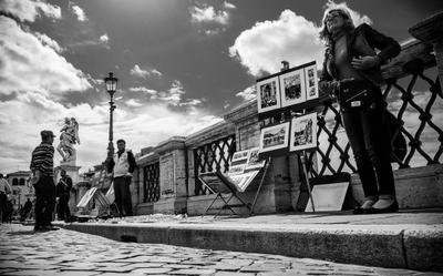 Мосты и мостовые... Рим, путешествия, путешествие, город, улица, travel, Rome, Roma, Italy, street, city