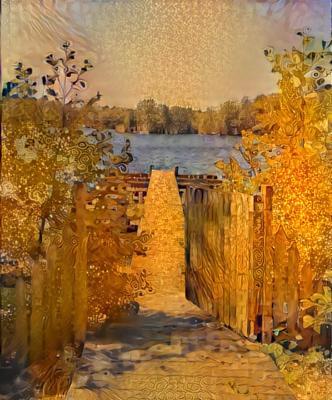 *** Klimt Artificial Intelligence Nature