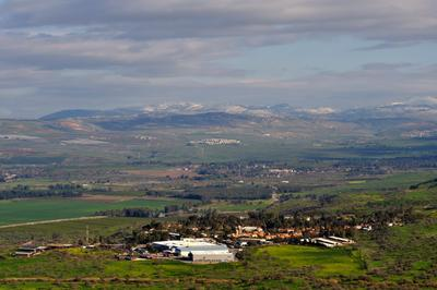 На границе с Ливаном Север Израиля