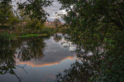 Дивногорье Вечер на Тихой Сосне пейзаж nevant60 вечер природа