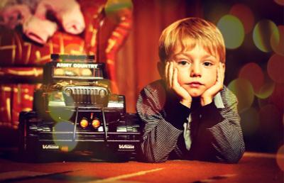 мечтатель портрет дети