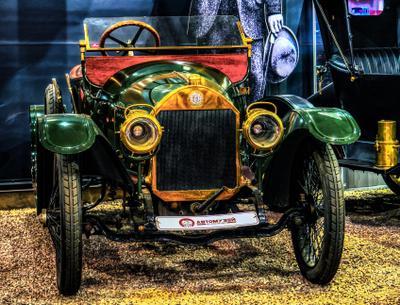 Очень  старое авто авто музей ретро Москва